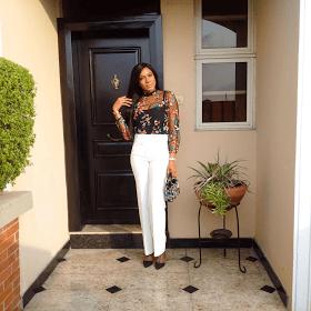 Chika Ike steps out for Kene Mparu